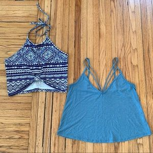 Bundle of 2 Charlotte Russe Size Small Crop Tops